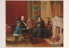 Eastman Johnson (1824-1906)  -  E.Johnson/The Brown Familf/NGW - Postkaart -  A4995-1