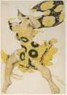 Leon Bakst (1866-1924)  -  Costume designe of a Beotian for the ballet 'Narci - Postkaart -  A5034-1