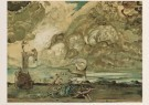 Salvador Dali (1904-1989)  -  Le Tourbillon, 1963 - Postkaart -  A5070-1