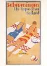 Louis C. Kalff (1897-1976)  -  Afbeelding van L. Kalff op toeristische folder met - Postkaart -  A5174-1