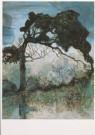 Charlie Toorop (1891-1955)  -  Landschap, 1910 - Postkaart -  A5265-1