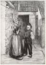 Betsy van Manen (1873-1915)  -  B.van Manen / Achtererf. - Postkaart -  A5269-1