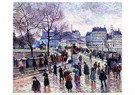 Maximilien Luce (1858-1941)  -  Paris, The Pont de l'Archevêché, 1896 - Postkaart -  A52780-1
