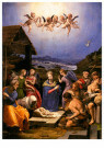 Agnolo Bronzino (1503-1572)  -  Adoration of the Shepherds, 1540 - Postkaart -  A53395-1
