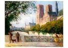 Maximilien Luce (1858-1941)  -  Notre Dame, Paris, 1901-1904 - Postkaart -  A53535-1