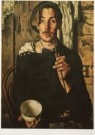 Dick Ket (1902-1940)  -  Dick Ket/Zelfportret 1939/GMA - Postkaart -  A5359-1