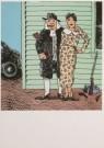 Seymour Chwast (1931)  -  S.Chwast / Bach w.gun moll. / PPG - Postkaart -  A5410-1