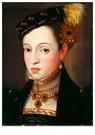G. Arcimboldo 1526/30-1593  -  Archduchess Magdalena of Austria, circa 1563 - Postkaart -  A54212-1