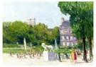 Maximilien Luce (1858-1941)  -  Luxembourg Garden, 1930-1935 - Postkaart -  A54544-1