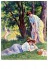 Maximilien Luce (1858-1941)  -  Swimming, 1908-1909 - Postkaart -  A54567-1