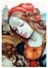 Fra filippo Lippi (1406-1469)  -  Holy Family (detail), - Postkaart -  A54721-1