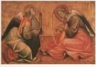Anoniem,  -  Twee musicerende engelen - Postkaart -  A5488-1