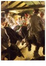 Anders Zorn (1860-1920)  -  Dance in the Gopsmor Cottage, 1914 - Postkaart -  A55229-1
