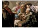 H. ter Brugghen 1588-1629)  -  Roeping van Mattheus - Postkaart -  A5603-1