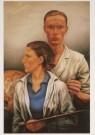 Edgar Fernhout (1912-1974)  -  E. Fernhout/Dubbel portret/CMU - Postkaart -  A5606-1