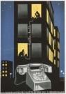Jan Lavies (1902-2005)  -  Huistelefoon - Postkaart -  A5607-1