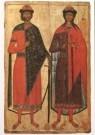Anoniem,  -  Anoniem/St. Boris-St. Gleb/SRM - Postkaart -  A5680-1