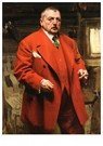 Anders Zorn (1860-1920)  -  Self-Portrait in Red, 1915 - Postkaart -  A58259-1