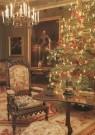 -  Kerstboom in salon koning Willem II - Postkaart -  A6012-1