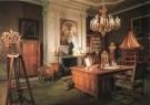 -  Werkkamer van Koningin Wilhelmina (1880-1962) - Postkaart -  A6015-1