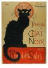 Theophile-Alexandre Steinlen - Tournee du Chat Noir avec Rodolphe Salis, 1896 - Postkaart - A6108-1