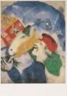 Marc Chagall (1887-1985)  -  Chagall/Peasant Life/AKG/BR - Postkaart -  A6159-1