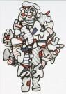 Jean Dubuffet (1901-1985)  -  J.Dubuffet/The loud one/AKG/BR - Postkaart -  A6168-1