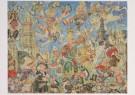 Jaap Oudes (1895-1969)  -  Reuzenhuwelijk - Postkaart -  A6224-1