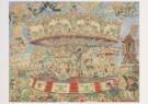 Jaap Oudes (1895-1969)  -  Paardemolen Bequart - Postkaart -  A6225-1