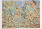 Jaap Oudes (1895-1969)  -  J.Oudes/Carnaval met reuzen - Postkaart -  A6226-1