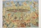 Jaap Oudes (1895-1969)  -  Paardemolen Vromans - Postkaart -  A6227-1