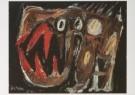 Asger Jorn  (1914-1973)  -  Compositie - Postkaart -  A6270-1