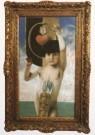 Franz von Stuck (1863-1928)  -  Amor - Postkaart -  A6291-1