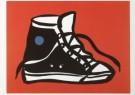 Thom Slaughter (1955-2014)  -  T.Slaughter/Sneaker print - Postkaart -  A6427-1