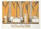 Jan Lavies (1902-2005)  -  Omslag ontbijtmenukaart, 1926 - Postkaart -  A6468-1