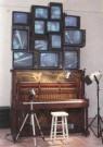 Nam-June Paik (1932-2006)  -  N.J.Paik/Piano Piece/AKG - Postkaart -  A6499-1