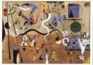 Joan Miro (1893-1983)  -  Carnaval van Arleq - Postkaart -  A6500-1