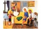 Jan Knap (1949)  -  J.Knap/Familie,gezin/CMU - Postkaart -  A6513-1