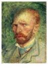 Vincent van Gogh (1853-1890)  -  Zelfportret 3,4 - Postkaart -  A6529-1
