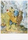 Vincent van Gogh (1853-1890)  -  De goede Samaritaan (naar Delacroix) - Postkaart -  A6532-1