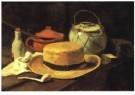 Vincent van Gogh (1853-1890) - V.v.Gogh/Silleven,gele hoed/KM - Postkaart - A6533-1