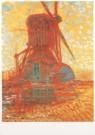 Piet Mondriaan (1872-1944)  -  Molen bij zonlicht - Postkaart -  A6604-1