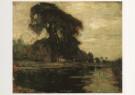 Piet Mondriaan (1872-1944)  -  Mondriaan/Bomen aan een va/HGM - Postkaart -  A6741-1