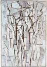 Piet Mondriaan (1872-1944)  -  Mondriaan/ Comp. bomen II/HGM - Postkaart -  A6779-1