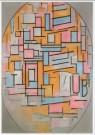 Mondriaan (1872-1944)Mondrian  -  Mondriaan/Comp.ovaal/HGM - Postkaart -  A6802-1