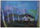 Piet Mondriaan (1872-1944)  -  Avondlandschap, 1908 - Postkaart -  A6806-1