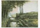 Piet Mondriaan (1872-1944)  -  Landschap met sloot, ca. 1895 - Postkaart -  A6816-1