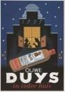 Jan Lavies (1902-2005)  -  Jan Lavies/Ouwe Duys Jenever - Postkaart -  A6912-1