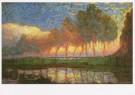 Mondriaan (1872-1944)Mondrian  -  Bomen aan het Gein - Trees by the gein, 1907-08 - Postkaart -  A6921-1