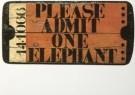 Viktor IV (1926-1986)  -  Viktor IV/Admit one elephant - Postkaart -  A6964-1